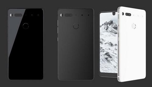 Dòng sản phẩm Essential Phone của Essential. Ảnh: Android Headlines.
