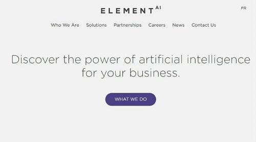 Startup mong muốn mở rộng hoạt động sang thị trường châu Á. Ảnh: Element AI.
