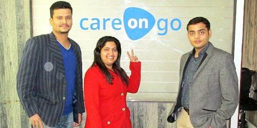 Đội ngũ sáng lập của CareOnGo. Ảnh: Your Story.