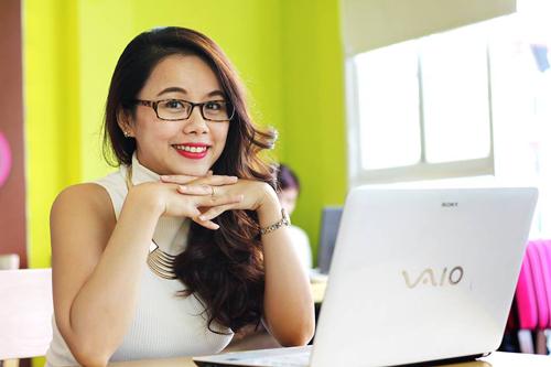 Chị  Nguyễn Thị Hoa -  chủ 7 cơ sở tiếng Anh Ms Hoa TOEIC tại TP HCM và Hà Nội.