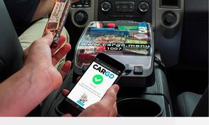 Tài xế tăng thu nhập nhờ bán hàng tiện lợi trên xe