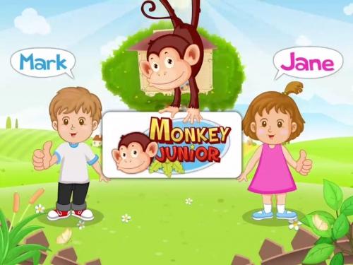 Giao diện của Monkey Junior.