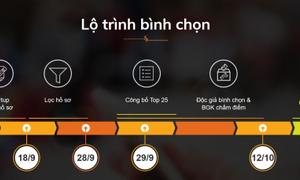 Ngày 18/9 hết hạn đăng ký bình chọn Startup Việt 2017