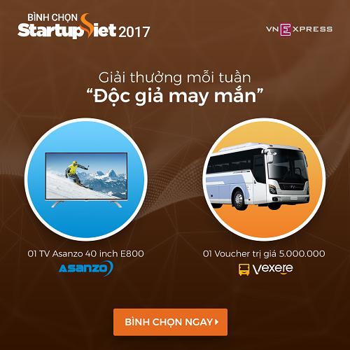 doc-gia-nhan-giai-chuong-trinh-binh-chon-startup-viet-2017