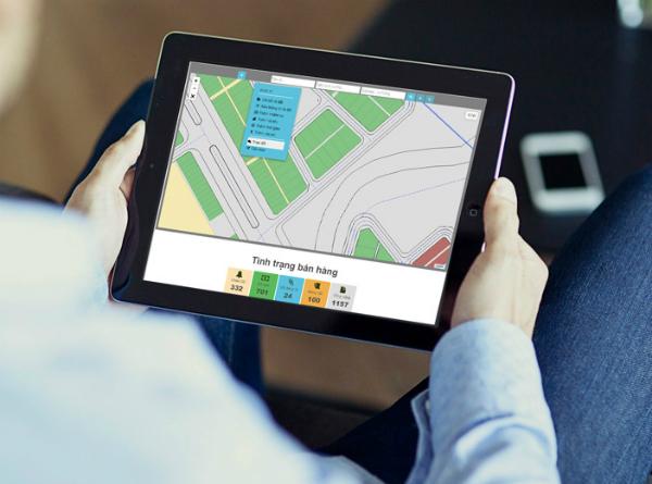 Giao diện trực quan củaTpizi, cung cấpđầy đủ thông tin cho người mua nhàkhông am hiểu xây dựng.