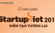 Ngày 24/10 diễn ra lễ vinh danh Startup Việt 2017