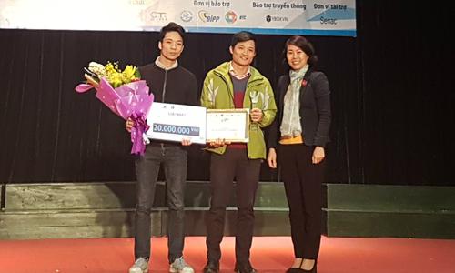 Giao hàng thông minh dành giải nhất Startup Journey 2017