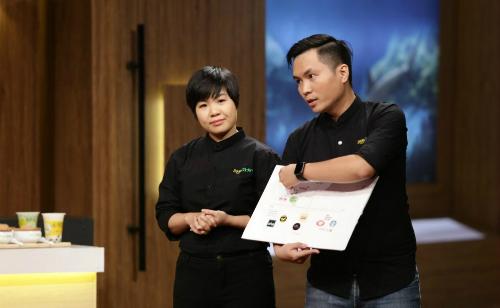 Hai founder của Soya Garden Thu thủy  Anh Tuấn.