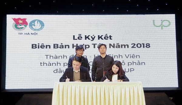 Sự hợp tác giữa hai đơn vị sẽ hỗ trợ các startup Việt Namgọi vốn, thủ tục pháp lý và không gian làm việc chung...Ảnh: Vietchallenge.