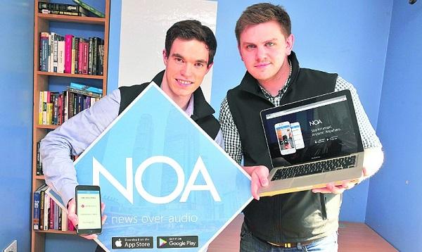 Những nhà sáng lập của ứng dụng phát thanh tin tức báo chí NOA cho biết họ tự tin đang đi đúng hướng và trong tương lai, startup có thể còn được phát triển và mở rộng ra nữa.