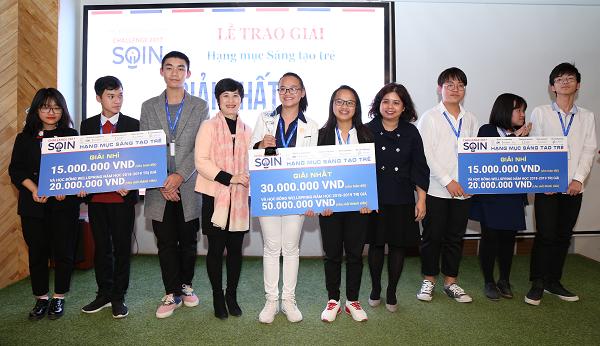 Các ý tưởng khởi nghiệp của các nhóm học sinh trung học phổ thông trong cuộc thi được đánh giá cao, đa dạng từ sản phẩm kính dành cho người khiếm thị, vòng tay cho trẻ tự kỷ đến sáng kiến xử lý rác thải hữu cơ thành phân bón vi sinh.