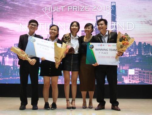 Ba dự án Việt tranh giải khởi nghiệp quốc tế trị giá một triệu USD