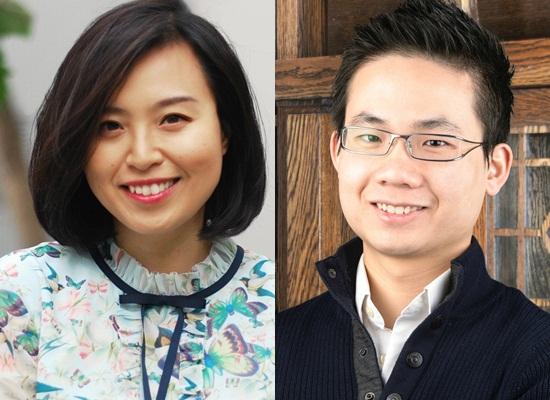 Bạch Diệu Linh và Lê Hoài Thanh. Ảnh: NVCC.