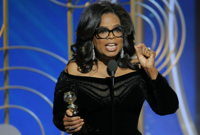Nữ hoàng truyền hình Oprah Winfrey là nữ tỷ phú da màu đầu tiên của nước Mỹ. Ảnh: Getty Images.
