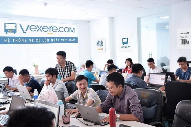 Startup Vexere kỳ vọng sẽ đứng đầu thị trường xe khách trực tuyến Đông Nam Á trong một vài năm tới. Ảnh: Vexere