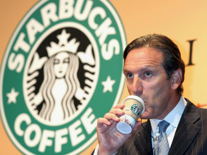 Howard Schultz - người đưa Starbucks trở thành thương hiệu toàn cầu.