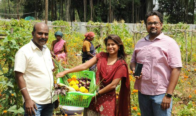 Startup Ấn Độ phát triển dịch vụ trồng rau từ xa