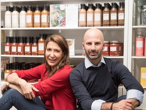 Hai nhà sáng lập công ty Brandless là Tina Sharkey và Ido Leffler đã từng có nhiều dự án khởi nghiệp trước đó. Ảnh: Business Insider.