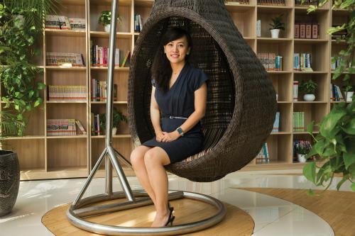 Jean Liu có xuất thân nhà nòi công nghệ khi bố cô là nhà sáng lập Lenovo.