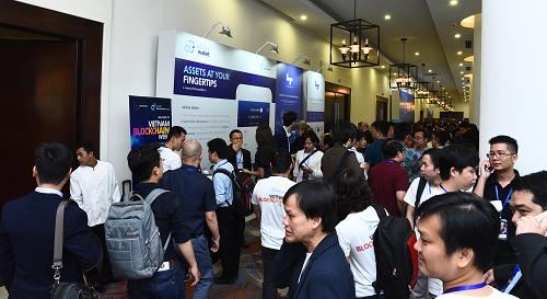 Hàng nghìn người quan tâm công nghệ blockchain xuất hiện tại sự kiện diễn ra vào ngày 7/3 tại TP HCM.