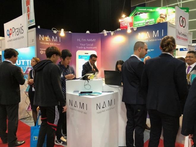 Sản phẩm Chatbot Việt Nam Nami Assistant tham gia iFx Expo Hong Kong tháng 1/2018.