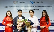 TomoChain triển khai nền tảng blockchain cho startup Binkabi