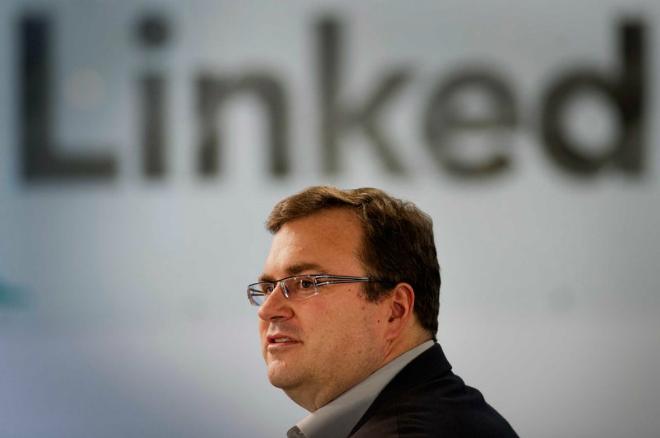 Reid Hoffman - nhà sáng lập LinkedIn. Ảnh: David Paul Morris.