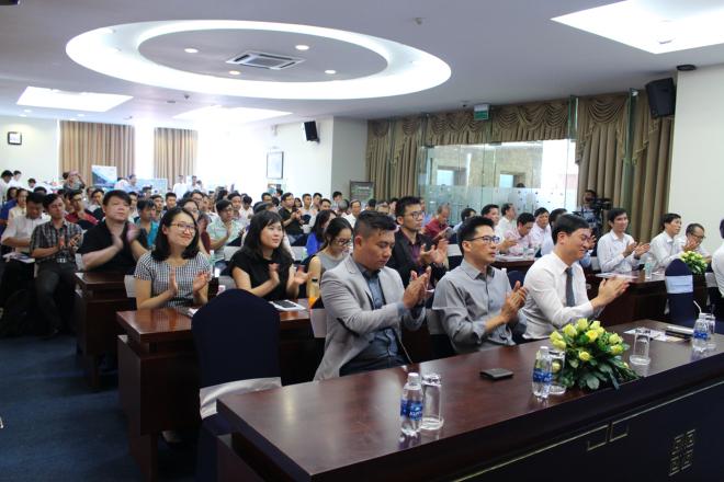 Buổi phát động cuộc thi vừa diễn ra tại TP HCM, thu hút sự quan tâm của giới khởi nghiệp và sinh viên.