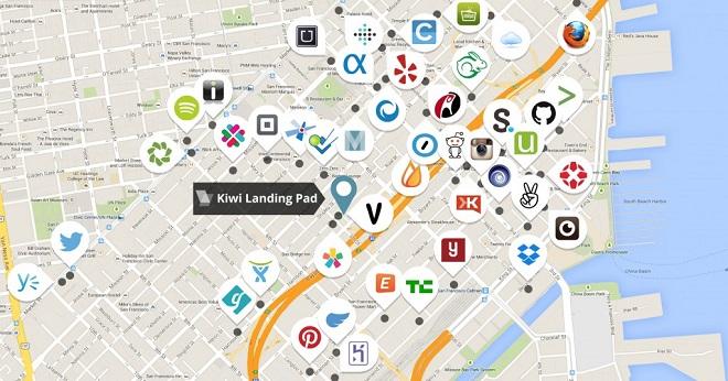 Chỉ trong một vài km vuông tại một con phố ở San Francisco, những startup tên tuổi, giá trị nhất thế giới tranh nhau đặt văn phòng.
