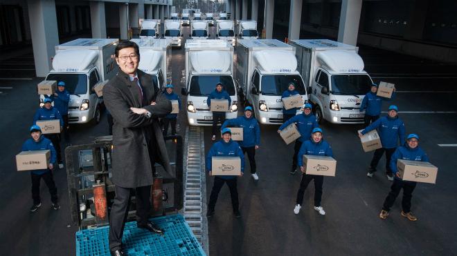 Kim Bom - Nhà sáng lập và CEO của Coupang. Ảnh: Coupang