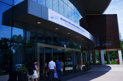 Hơn 2000 nhà khởi nghiệp thế giới và Việt Nam quy tụ tại Hội nghị và triển lãm khởi nghiệp quốc tế Đà Nẵng.