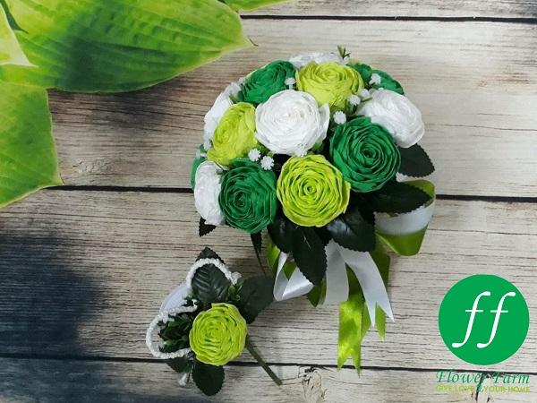 Sản phẩm hoa giấy từ Flower Farm hiện phủ khắp cả nước và xuất khẩu ra thị trường lớn.