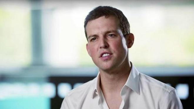 Brendan Blumer - CEO và nhà sáng lập Block.one. Ảnh: CNBC