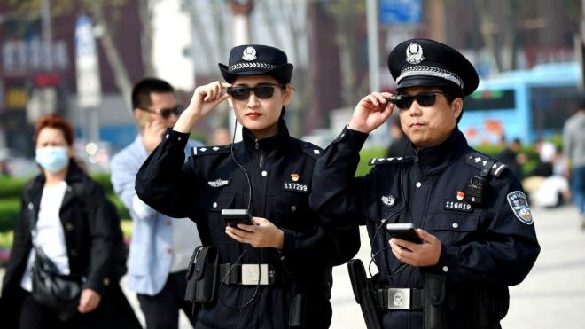 Công nghệ nhận diện khuôn mặtđược ứng dụng rộng rãi trong ngành an ninh tại Trung Quốc. Ảnh: scmp