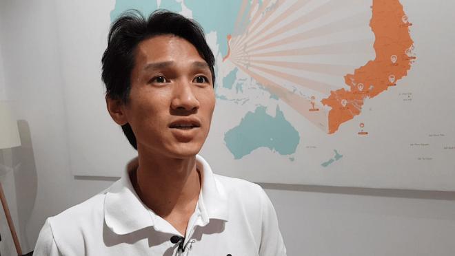 Thu Nguyen - nhà sáng lập startup Christinas. Ảnh: Benjamin Bathke.