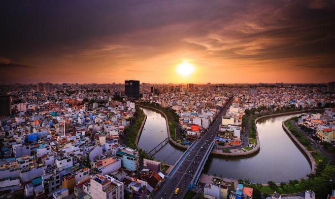 TP HCM - trung tâm kinh tế của Việt Nam. Ảnh: Pixabay.