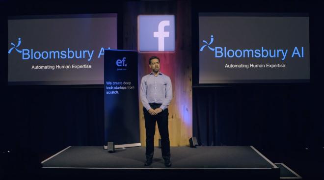 Bloomsbury là công ty phát triển công nghệ trí tuệ nhân tạo chuyên biệt về phân tích ngôn ngữ tự nhiên. Ảnh: Techcruch.