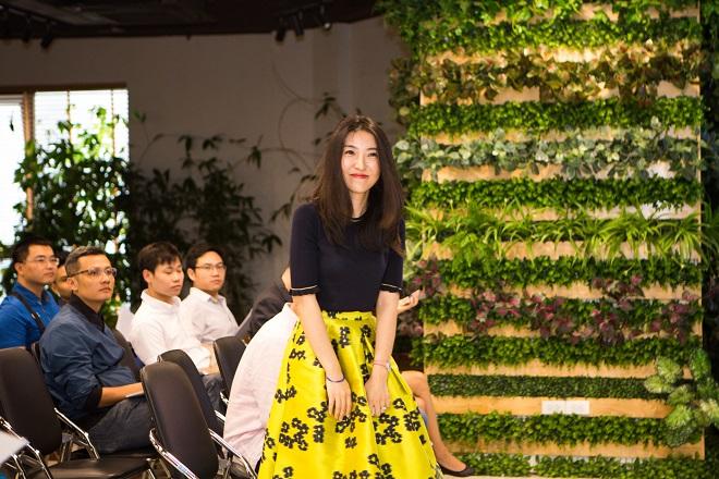 COO Manrui Tang trong sự kiện Binkabi tại Hà Nội.