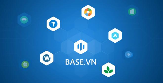 Base.vn có 5 dòng sản phẩm chính là Nhân sự, Công việc, Quản trị, Tài chính, Marketing & Sales