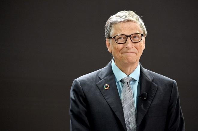 Bill Gates - chủ tịch tập đoàn Microsoft,