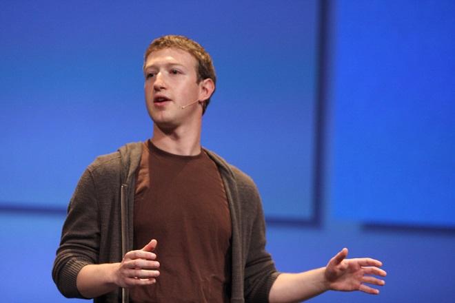 Mark Zuckerberg - đồng sáng lập kiêm CEO Facebook.