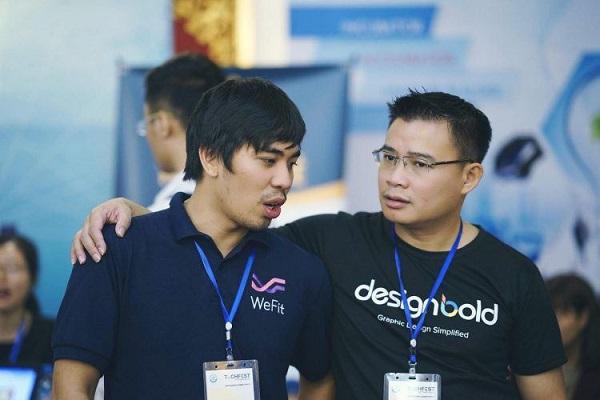Tập trung vào sản phẩm, biến sản phẩm thành giá trị cốt lõi của doanh nghiệp là một trong những bài học quan trọng trong phát triển thành công startup DesignBold của CEO Hùng Đinh. Ảnh: Techfest