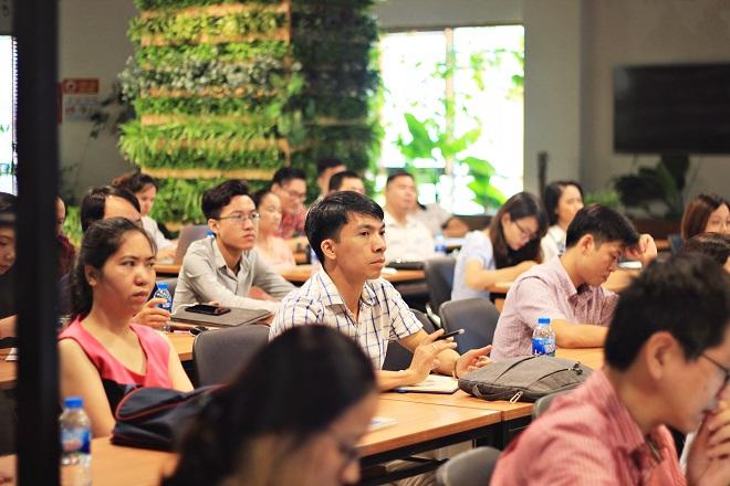 Sự kiện thu hút nhiều nhà đầu tư, sáng lập startup, đại diện quỹ đầu tư, vườn ươm.