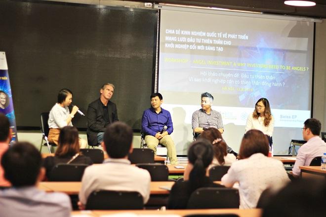 Tọa đàm bàn về thực trạng nguồn vốn đầu tư tại Việt Nam.