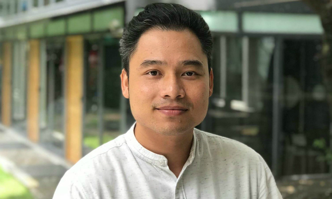 ông Võ Trần Đình Hiếu - Giám đốc tài chính Viisa kiêm Phó giám đốc quỹ đầu tư Dragon Capitall, đồng sáng lập Câu lạc bộ Fintech Việt Nam.