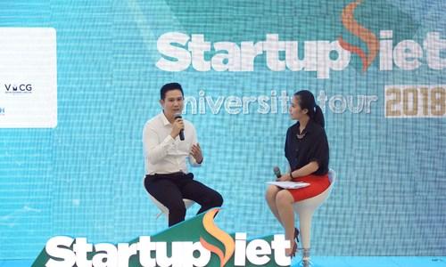 Ông chủ Asanzo: 'Sinh viên giàu năng lượng nhưng cần thêm kinh nghiệm startup'