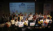 Bảng hiệu thông minh giành giải nhất cuộc thi IoT Startup 2018