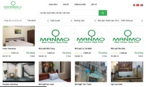 Khởi nghiệp hướng vào thị trường lưu trú giá rẻ của ManMo Search