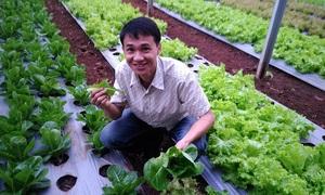 Mô hình nông nghiệp thông minh của kỹ sư 8x