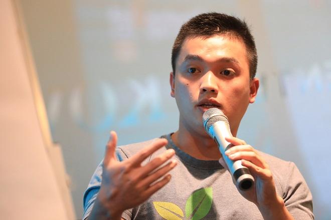 ông Phạm Bảo Long, quản lý chương trình của Viisa. Ảnh: Hữu Khoa.